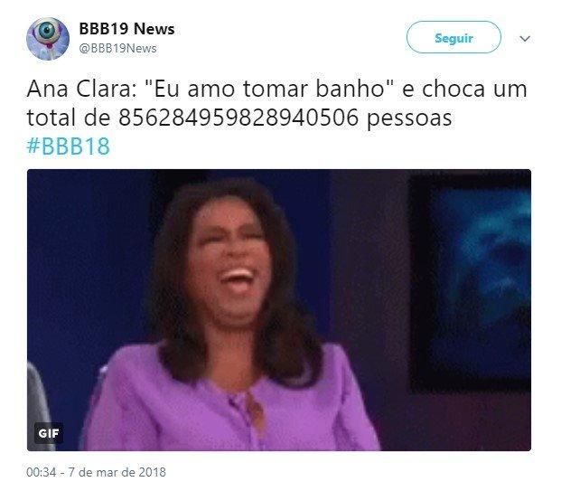 Ana Clara banho 6