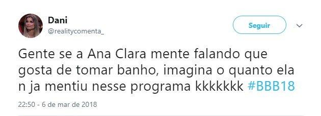 Ana Clara banho 8