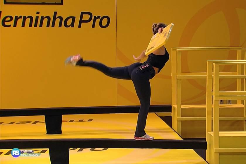 A Prova de resistência 1 Jessica relembra tempos de ginástica olimpica