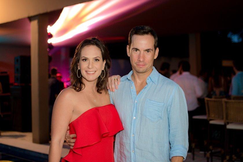 Jaime Rosello e Ana Paula Rosales