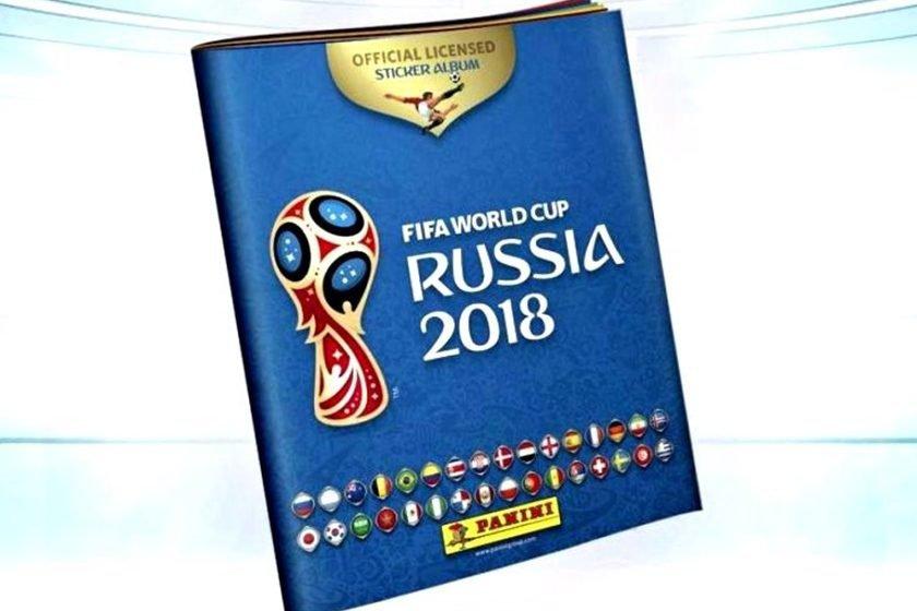 Panini lança álbum oficial de figurinhas da Copa da Rússia 7525bf523dc92