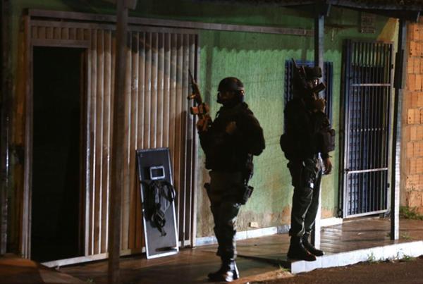 gangue, operação ares, planaltina. Polícia civil