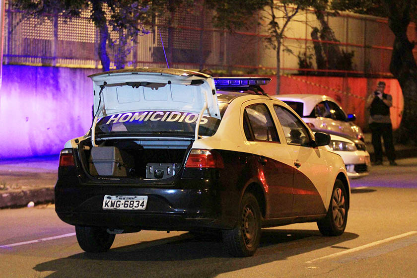 A VEREADORA MARIELLE FRANCO MORTA A TIROS NO RIO DE JANEIRO (RJ).