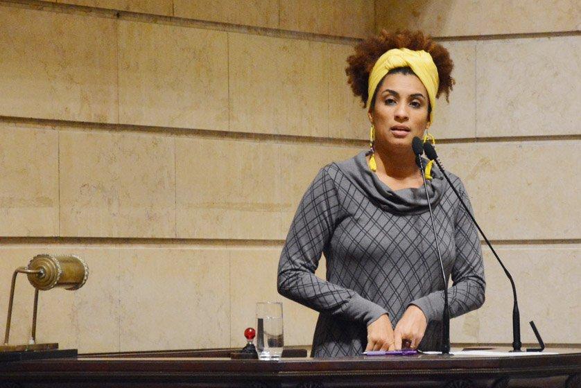 Marielle Franco assassinada rio de janeiro