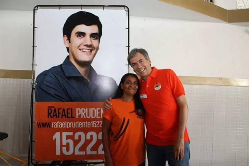 Rafael Prudente e o pai