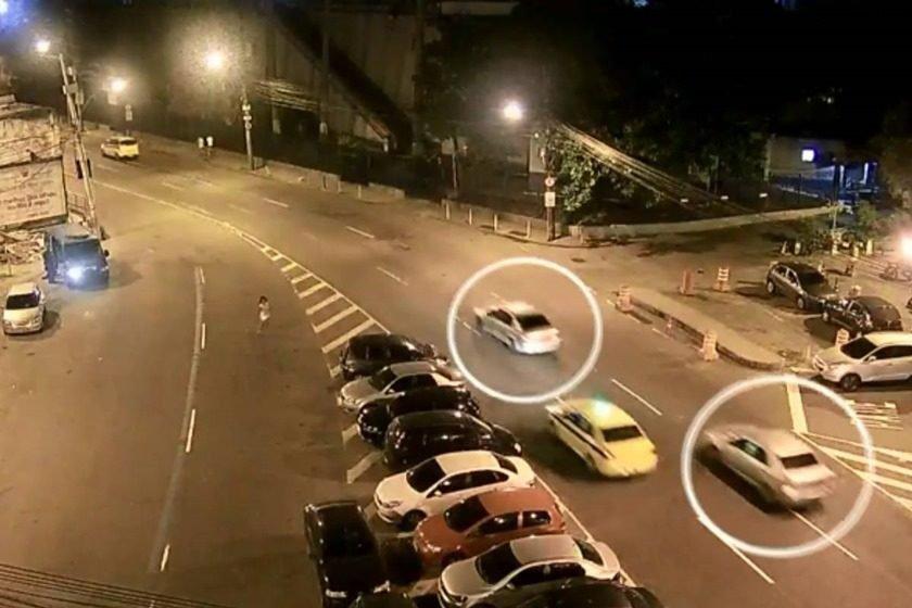 Câmera mostra Marielle Franco sendo seguida assim que sai de evento