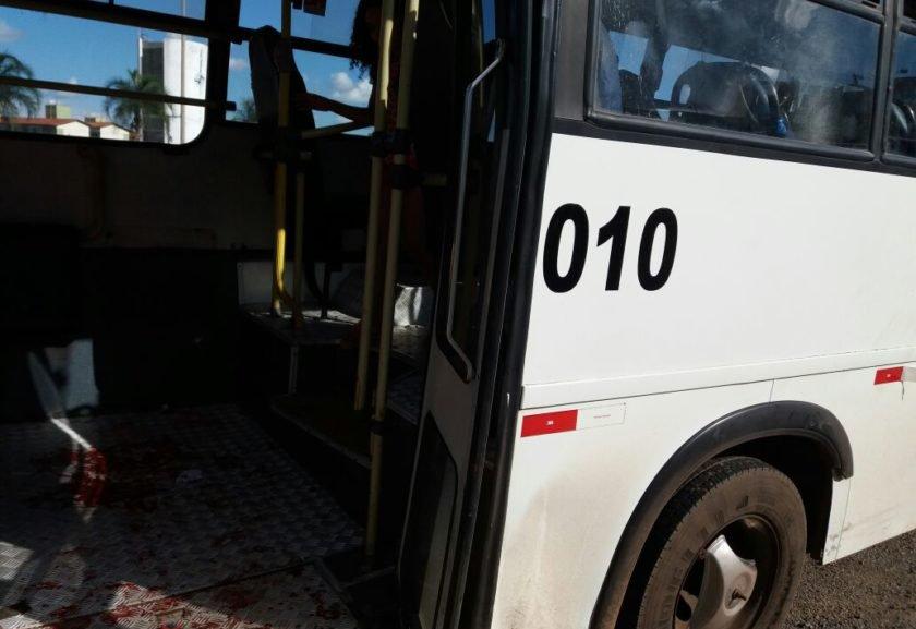 Jovem é baleada durante assalto a ônibus na BR-040