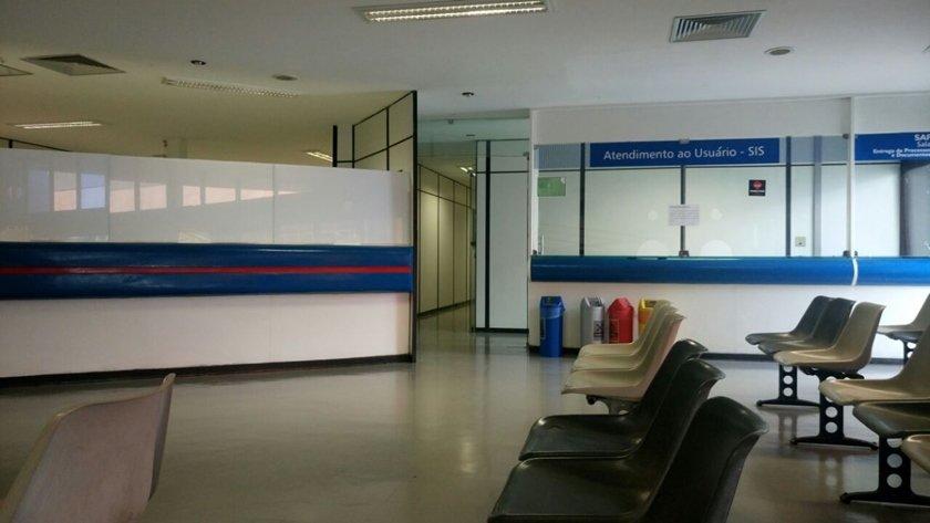 local onde funcionava hospital do senado