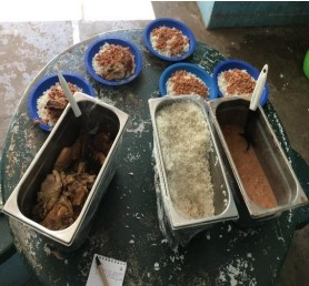 alimentação servida em Recanto das Emas