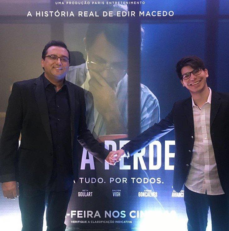 Geraldo Luís e João Pedro