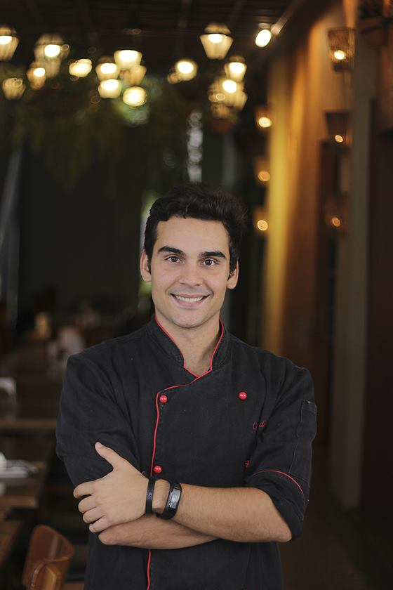 O chef Rodrigo Melo, do Cantucci - Crédito Junior Rosa