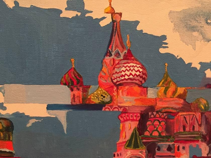 de41f7c2c3 A pintura de Marcela Cantuária, entre a utopia e o mundo real