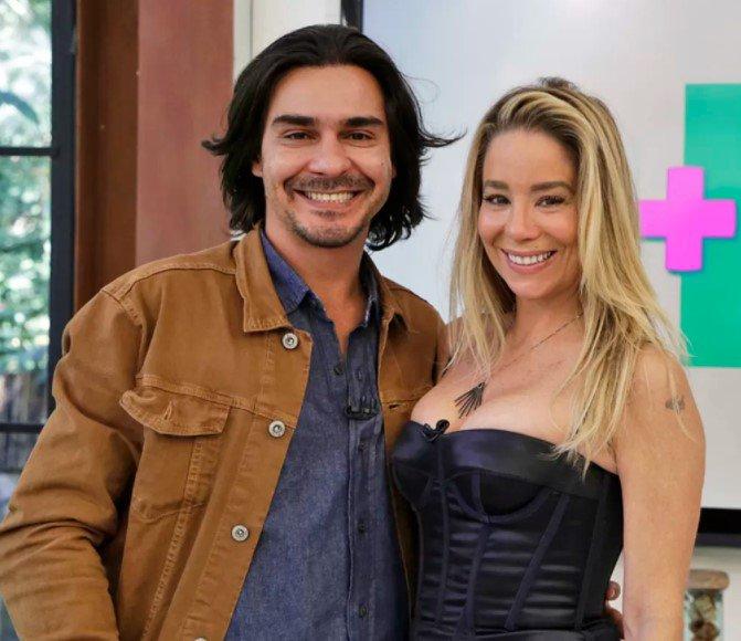 André Gonçalves e Danielle Winits