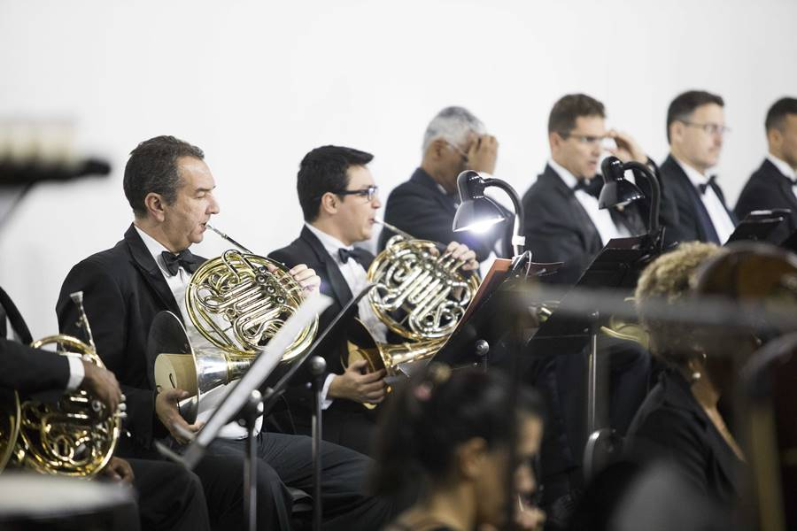 A Orquestra Sinfônica do Teatro Nacional Claudio Santoro