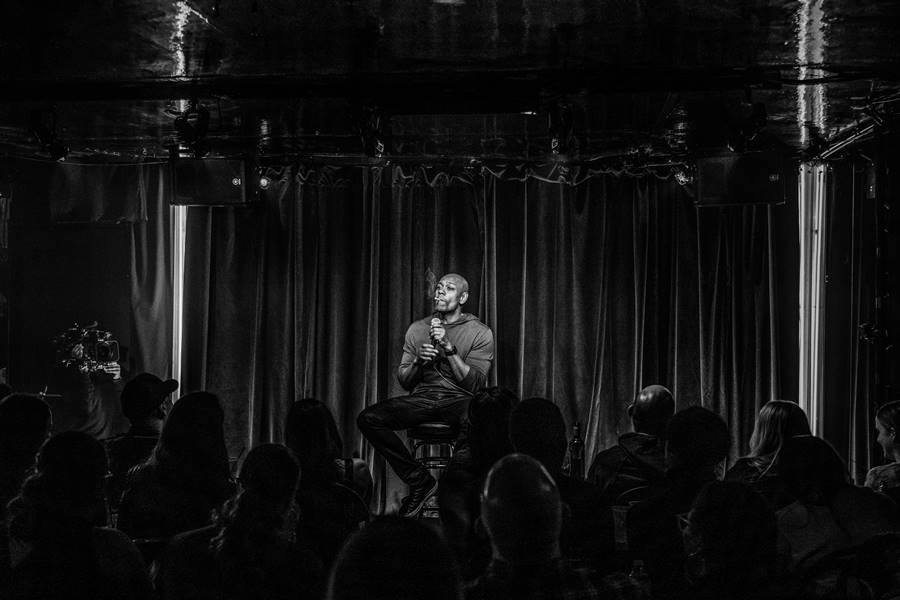 Dave Chappelle in concert, The Comedy Store, Los Angeles