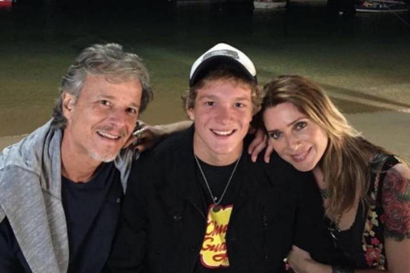 Filho de Letícia Spiller é detido com maconha