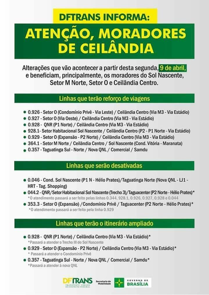 Divulgação/DFTrans