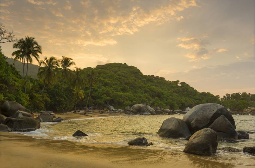 Tayrona National Park Sunset