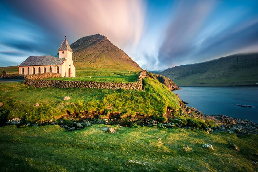 Church Bordoy, Múli, Faroe Islands
