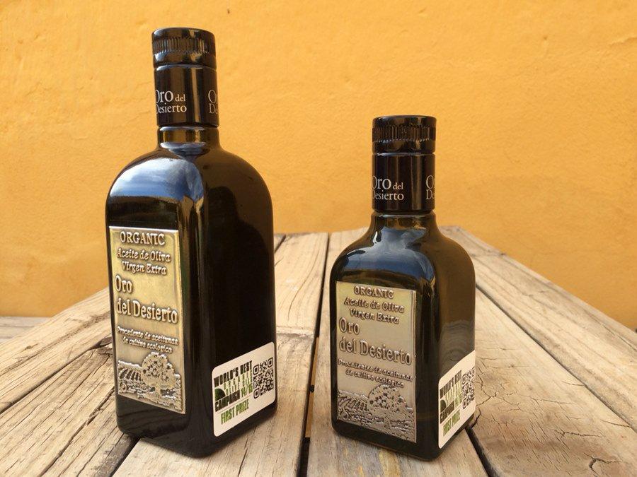 Azeite Oro del Desierto (orgânico) - Espanhol_Foto Divulgação