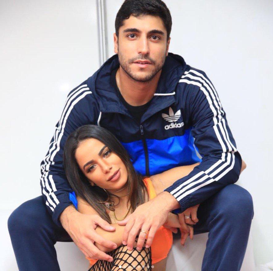 Anitta e Thiago Magalhães