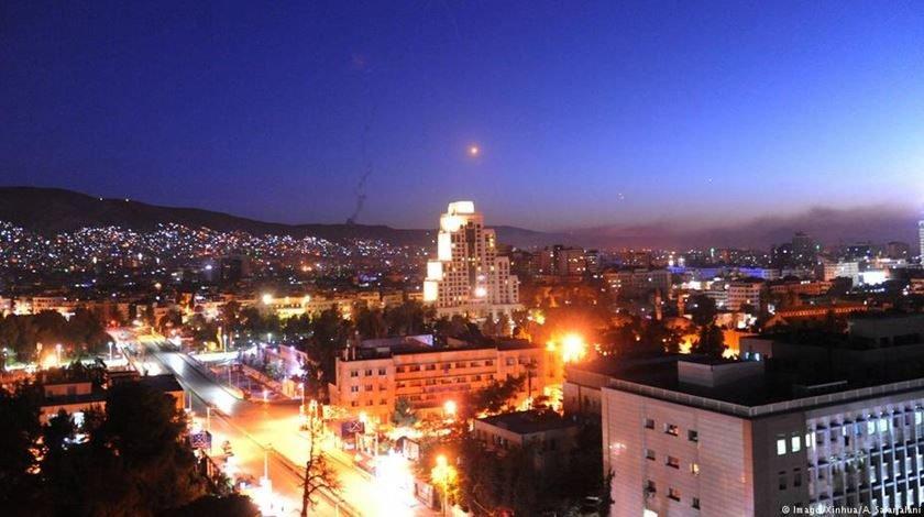 syrien Damaskus Militarschlang/DW