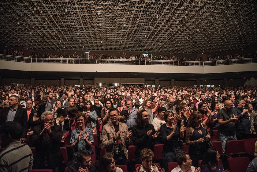 Brasília (DF), 13/04/2018 Show Ivan Lins e Toquinho Local:  Centro de Convenções Foto: Hugo Barreto/Metrópoles
