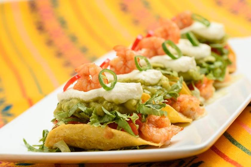 Taco El Paso Camarones