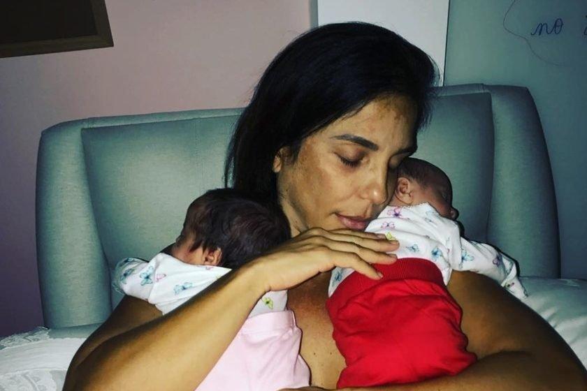 Gêmeas de Ivete Sangalo estão celebrando 1 ano; veja fotos raras das bebês 2