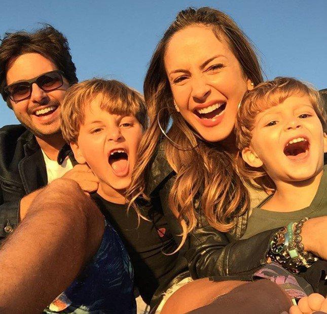 Claudia Leitte e filhos