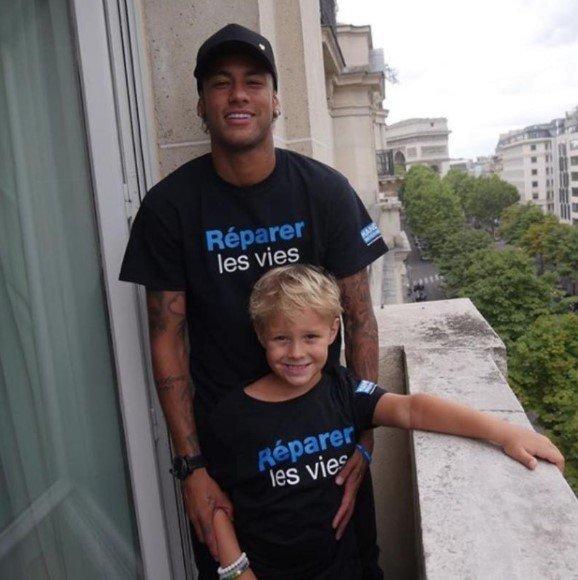 Neymar e Davi