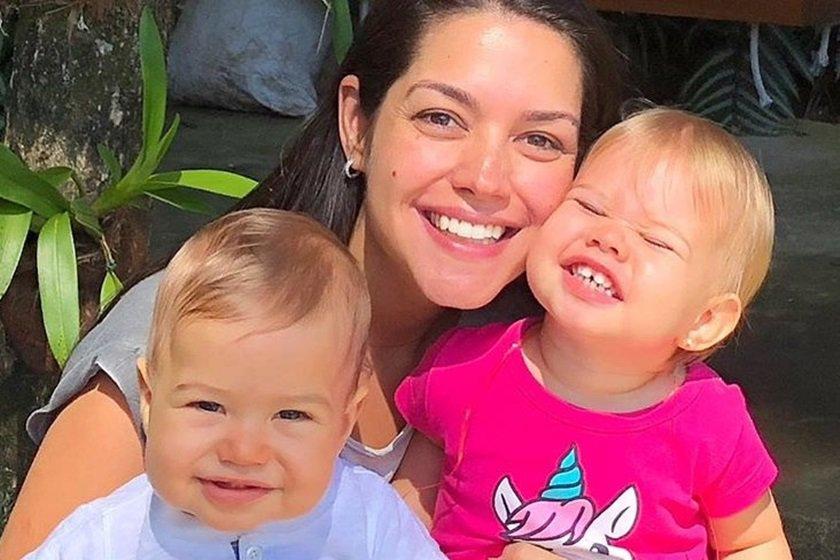 Thais Fersoza e filhos