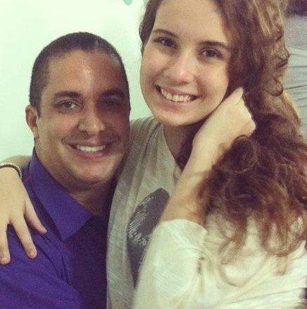 Solange Gomes e Waguinho
