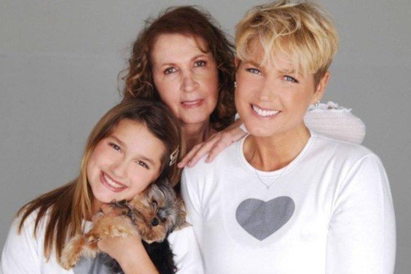 'Meu passarinho voou', diz Xuxa sobre a morte da mãe