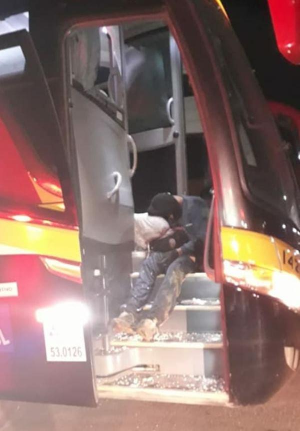 assalto a ônibus, real expresso,  Luziânia
