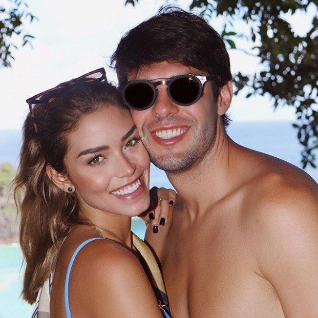 Carol Dias e Kaká
