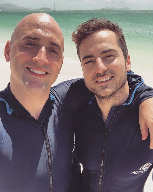 Paulo Gustavo e Thales Bretas
