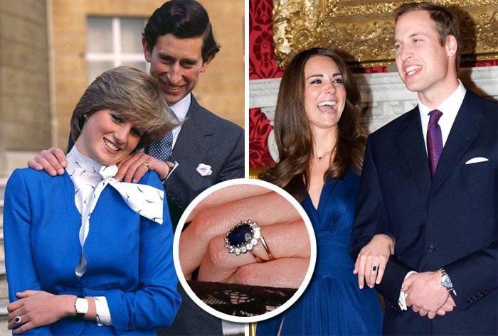 12++ Anel De Noivado Kate Middleton