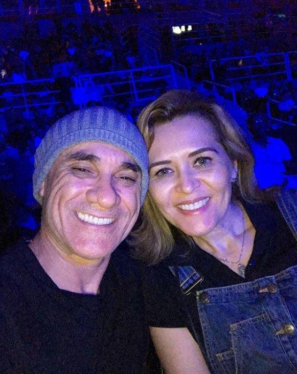 Ayrton e Ana Clara