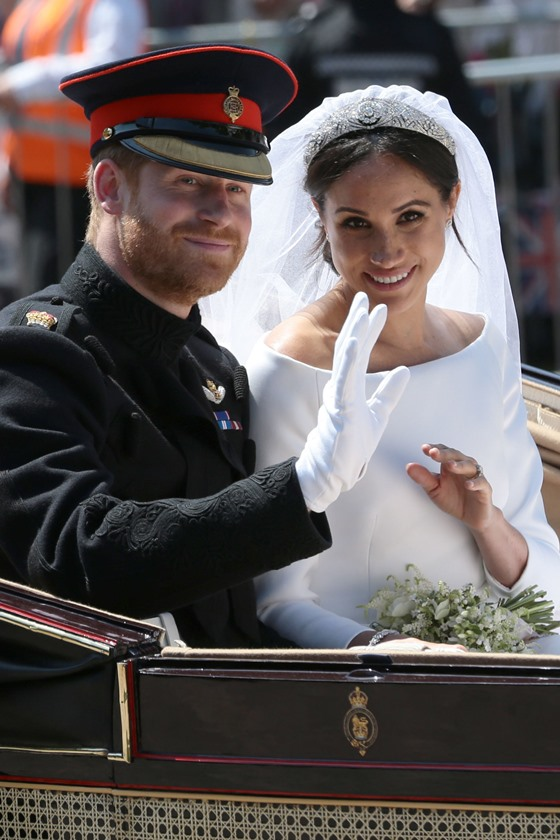 Principe Harry Marries Ms. Meghan Markle - Procession