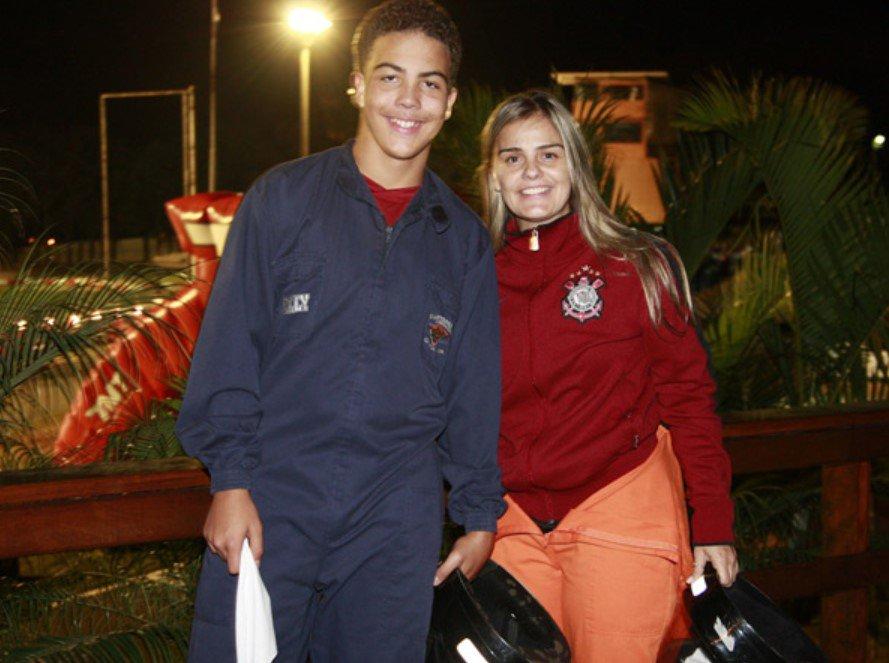 Milene Domingues e Ronaldo