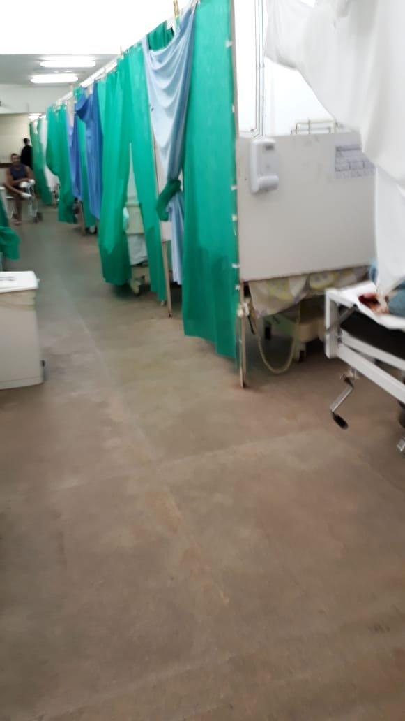 pronto-socorro hrg hospital gama leitos improviso
