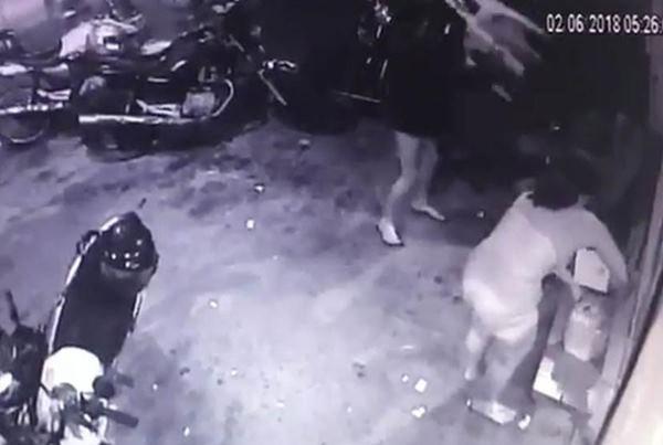 morador de rua espancado