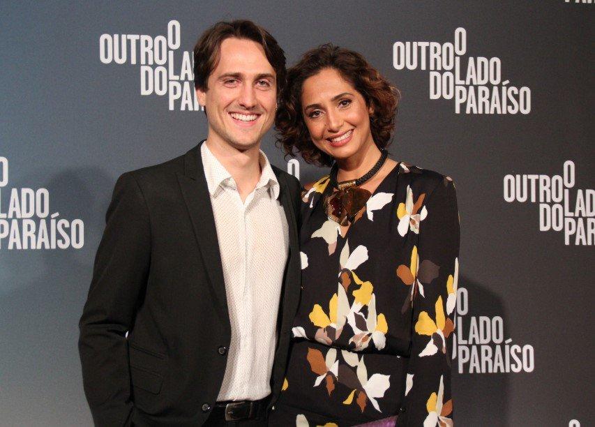 Igor Angelkorte e Camila Pitanga