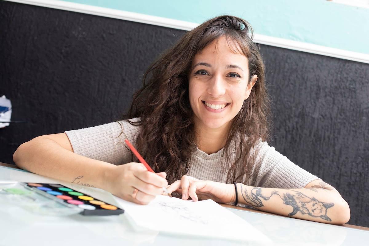 Estúdio de Tatuagem com equipe feminina