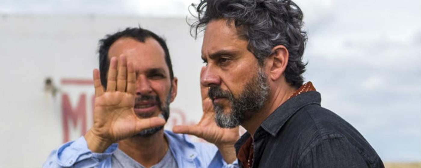 José Luiz Vilarrim e Alexandre Nero