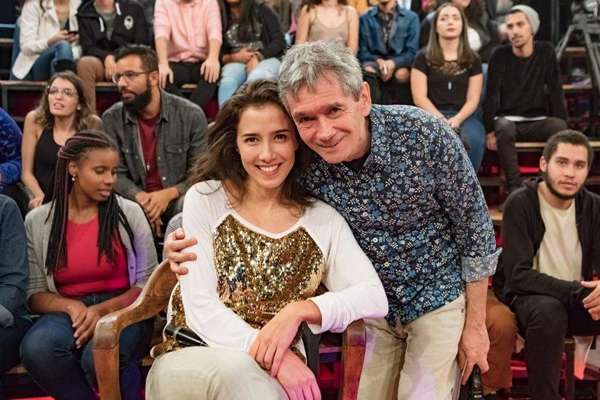 Serginho e  Marjorie Estiano