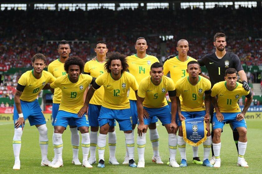 escalação austria brasil