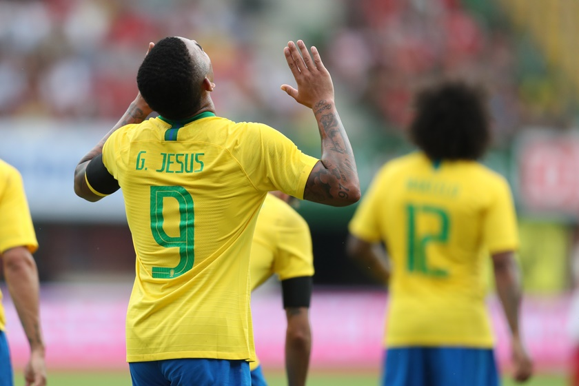 gabriel jesus seleção brasileira brasil