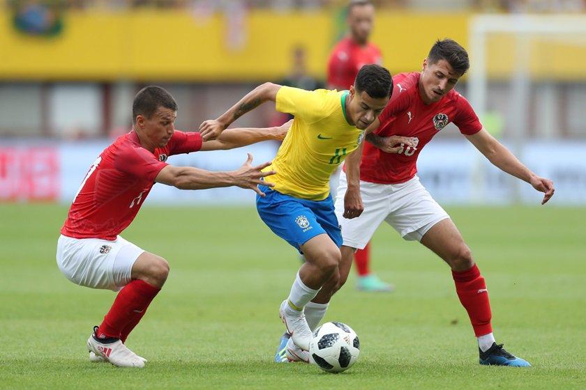 philippe coutinho seleção brasileira brasil